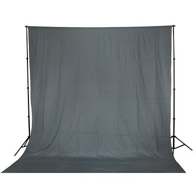 10x20 ft Solid Grey Photography Muslin Photo Video Studio Backdrop Background