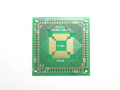 QFP/TQFP/LQFP Pitch 0.65mm/0.5mm 88 108 144 Leads to DIP Adapter Converter