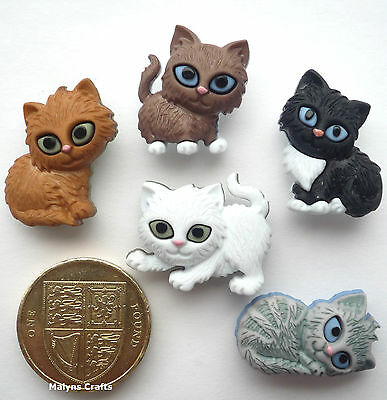 DRESS IT UP BUTTONS ~ FOREVER FRIENDS ~ DOG ~ CAT ~ MOUSE ~ FOX ~ RABBIT ~CRAFTS