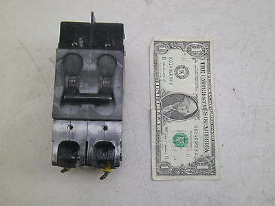Airpax 2 Pole 20A Amp Circuit Breaker 229-2-1-61F-8-9-20 Used But Good Free Ship