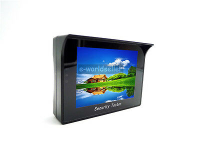 """4.3"""" TFT LCD Monitor CCTV Security Camera Video Tester Test with High Battery"""