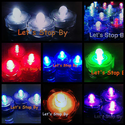 48 LED Submersible Waterproof Wedding Floral Decoration Tea Feather Vase light