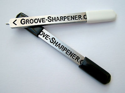 GOLF GROOVE SHARPENER used on TITLEIST, PING, TaylorMade, VOKEY WEDGES