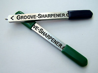 *** GOLF GROOVE SHARPENER - use on TITLEIST Vokey Wedges & all Major Brands ***