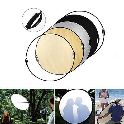 """43""""/110cm 5-in-1 Photo Studio Multi-Disc Panel Collapsible Light Reflector Camer"""