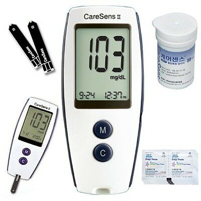 Blood Glucose Monitoring System plus strips complete Kit meter
