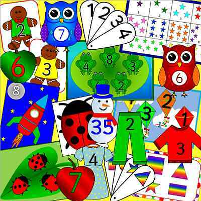 Bumper MATHS resource CD for the Early Years -  EYFS, SEN, Reception, number