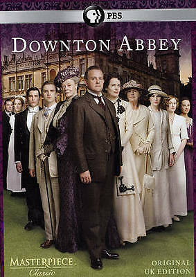 Masterpiece Classic Downton Abbey ~ 1st First Season 1 One~ NEW DVD 3-DISC SET