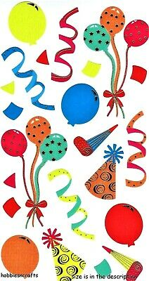 Ek Success Sticko Stickers Celebration Balloons Hats Streamers Blow Outs - Party