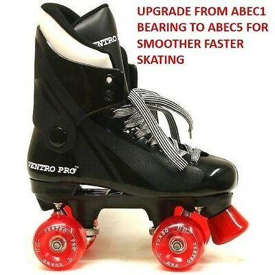 Ventro Vt1 Pro Turbo Quad Roller Skates With Upgraded Abec5 Bearings
