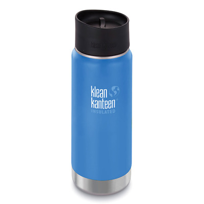 NEW KLEAN KANTEEN 473ml 16oz INSULATED WIDE DEEP SEA BLUE Water Soup Coffee Tea