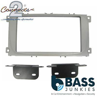 CT23FD08 Ford Focus 2007 On Car Stereo Radio Double Din Facia Fascia Plates Kit