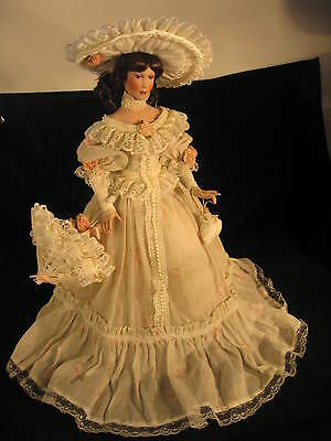 "Porcelain Doll  ""Ashley"" Musical - by  Patricia Rose  -  Premier Edition -"