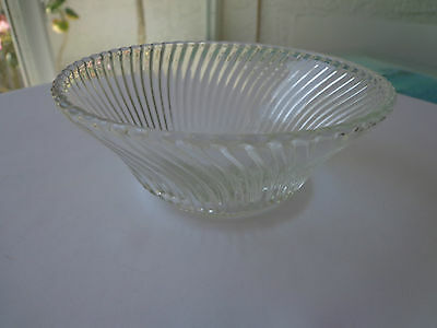 Federal Glass Depression Glass Diana Pattern Cereal Bowl 1937/1941