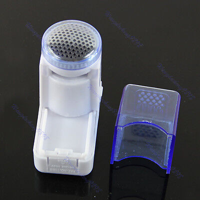 Mini Portable Fuzz Cloth Pill Lint Remover Wool Sweater Fabric Shaver Trimmer