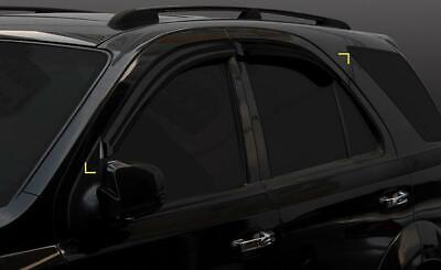 For Kia Sorento 2003 - 2009 Wind Deflectors Set - 5 door  (4 pieces)