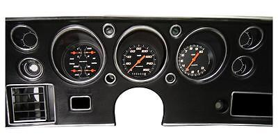 1970-72 Chevelle Ss Gauge Set Classic Instruments Velocity Black Series  Cv70Vsb