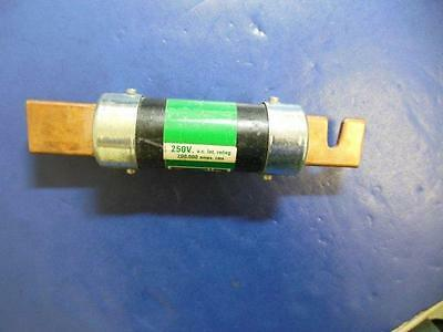Bussmann FRN-R-125 Fuse, Fusetron Dual-Element, Time-Delay, Lot of 3