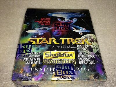 Star Trek Master 1993 Series 1 Trading Cards Box - Skybox - Factory sealed