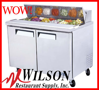 NEW TURBO AIR MST-48 Commercial M3 Series Refrigerated Sandwich/Salad Prep Table