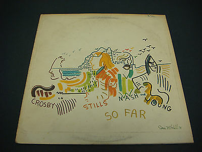 Crosby, Stills, Nash & Young, So Far,  Atlantic Records,LP,Vinyl,Album,Woodstock