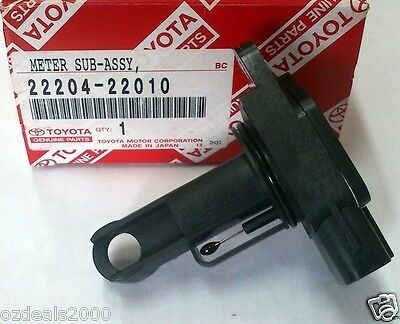 GENUINE Toyota Mass Air Flow Sensor fit corolla yaris rav4 lexus Solara Echo MR2
