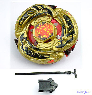 BEYBLADE GOLD L-DRAGO DESTROY 4D System METAL FUSION MASTER FIGHT RAPIDITY