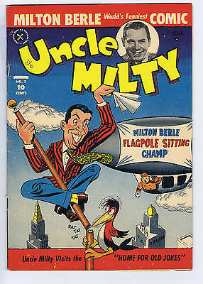 Uncle Milty #2 Superior Pub  1951 CANADIAN EDITION