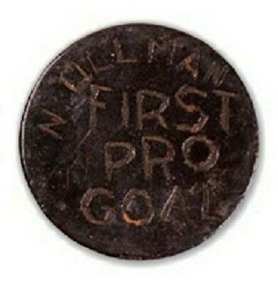 NORM ULLMAN HOF 1st Professional Goal Puck from his only 1953 Edmonton WHL Game