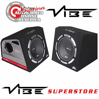 "Vibe Slick 2013 1200 Watts 12"" Inch Active Amplified Car Sub Subwoofer Bass Box"