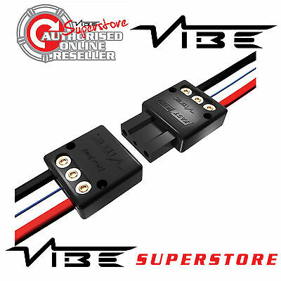 Vibe FAST PLUG Quick Release Plug For Active Sub Bass Boxes to Amp Amplifiers
