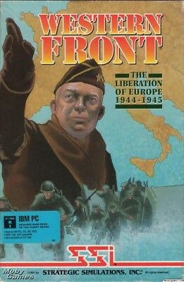 GARY GRIGSBY'S WESTERN FRONT SSI +1Clk Windows 10 8 7 Vista XP Install