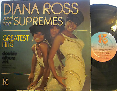 Diana Ross and The Supremes - Greatest Hits  (Kelo Music = K-Tel) (2 LP set)