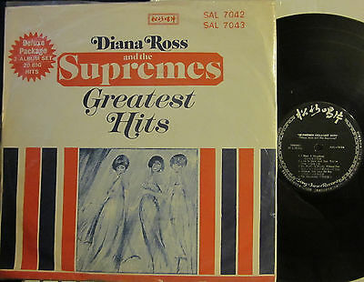 Diana Ross and The Supremes - Greatest Hits  (2 LP set) (Taiwanese)