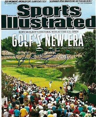 Rory Mcilroy Signed Autographed 8x10 Photo Sports Illustrated US BRITISH OPEN