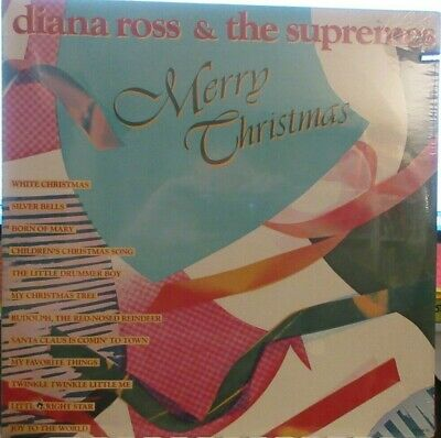 ► Diana Ross and the Supremes - Merry Christmas  (Natural Resources 4010) Sealed