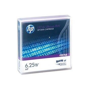 5x HP LTO-6 Ultrium 2.5TB / 6.25TB RW Data Cartridge P/N: C7976A