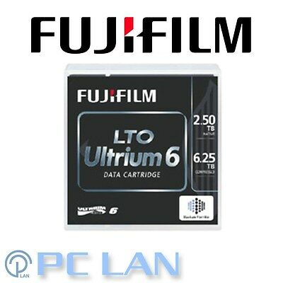 FUJIFILM LTO Ultrium 6 Data Cartridge 2.5TB / 6.25TB BAFE Data Cartridge 71024