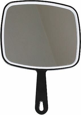 Professional Salon Hairdressers Large Handheld Mirror - Various Colours