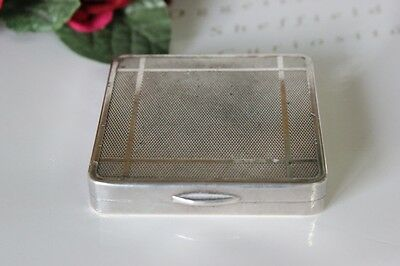 Delizioso Portacipria D'epoca In Sheffield  Powder Compact Vintage