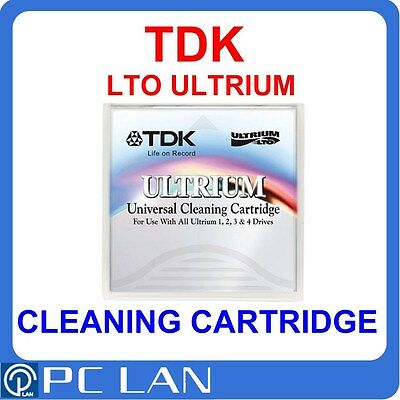 TDK LTO Ultrium Universal Cleaning Cartridge P/N: 77000017630