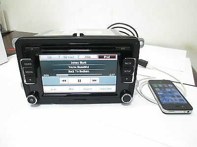 Volkswagen OEM RCD510 Unused Touchscreen 6 CD with Code Free Shipping