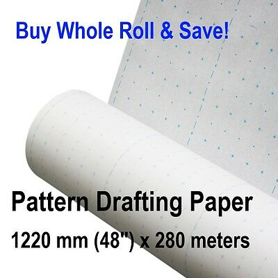 Patternmaking Paper Whole Roll Pattern Making Drafting Sewing Patterns Clothing