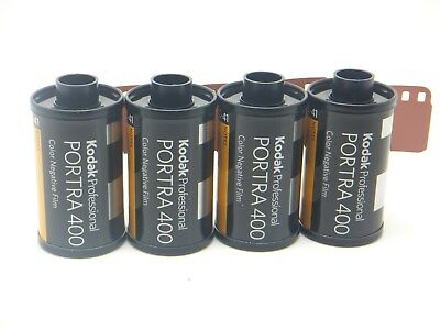 4 x KODAK PORTRA 400 35mm 36 Exp CHEAP PRO COLOUR FILM By 1st CLASS ROYAL MAIL