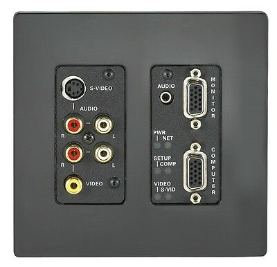 Crestron Quick Media Wall Plate Media Center Distribution # QM-WMC Ships Free!