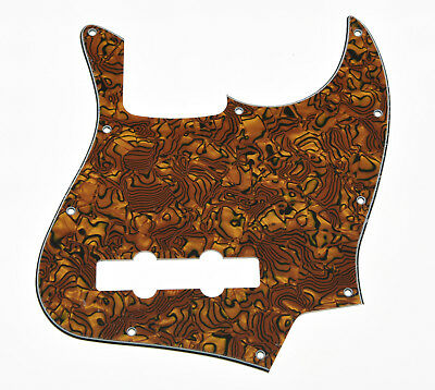 JB Jazz/J Bass Pick Guard Scratch Plate with Screws Tiger Stripe