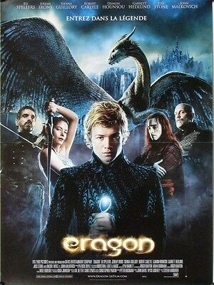R029 ERAGON French poster 16x21 '06 Edward Speelers, Jeremy Irons John Malkovich