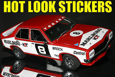 1:18 Peter Brock 1974 ATCC Winner MISSING Vinyl Decals Biante SLR LH Torana HDT
