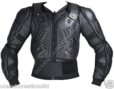 Kids Children Motocross Motorcycle Enduro Mx Body Armour Bionic Protector Jacket