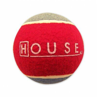 """TV Show- House M.D. Oversized 5"""" Tennis Ball Seen By Doctor House (Hugh Laurie)"""